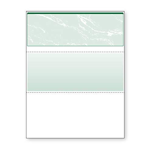 Comprobación Prismática de la parte superior de color azul y verde de Documentgard, color verde