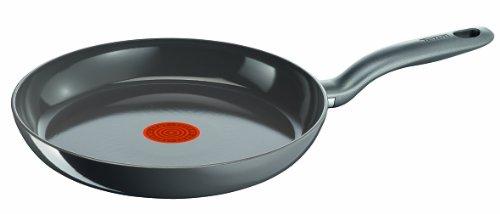 Tefal C93302 Ceramic Control Induction Pfannen, 20 cm,grau