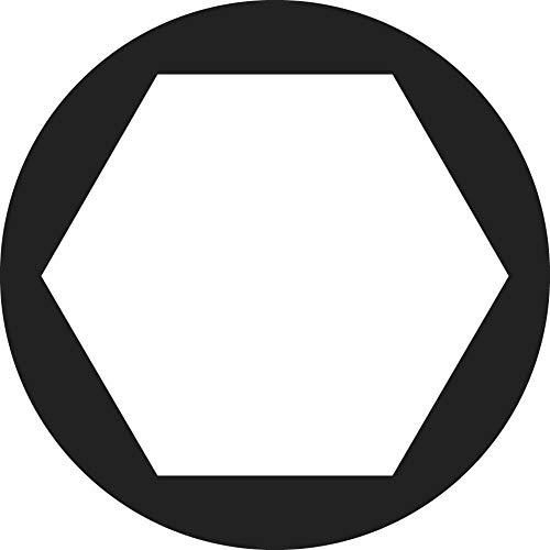 Toolcraft 815616 - Tuercas hexagonales M2.5 (acero galvanizado, 100 unidades)