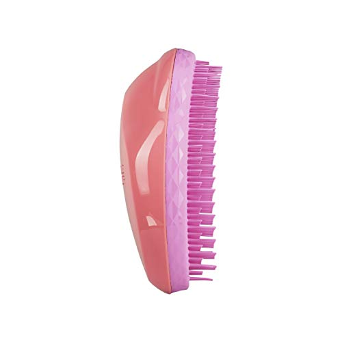 Tangle Teezer - Cepillo Antitirones - The Original - Color Coral Pink - 12 x 8 x 5 cm - Desenreda el Pelo Sin Tirones - Cuida la Cutícula del Cabello - Peine Tangle Teezer Original
