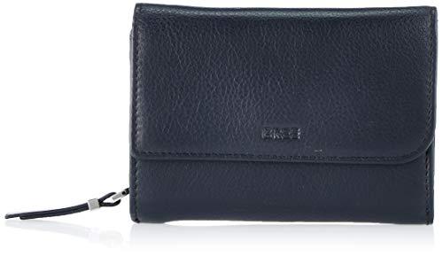 BREE Damen Lynn 160 Geldbörse, Blau (Navy), 3x9.5x13 cm
