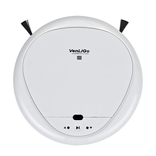 Fantastic Deal! Robot Vacuum Cleaner High Suction,Auto Self-Charging Robotic Vacuum Cleaner Drop Sen...