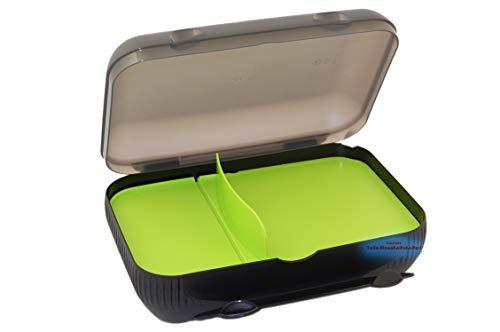 Tupperware® Lunch-Box, Brotdose mit Trennwand, Neue Trendfarbe! + Kugelschreiber *Tolle Haushaltshelfer*.