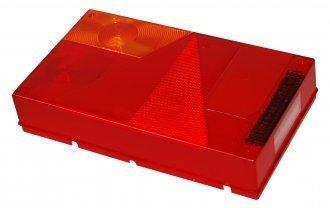 Lichtscheibe für Rückleuchte Aspöck Multipoint 1 I links 18-8450-007 Ersatzglas für Pkw Anhänger