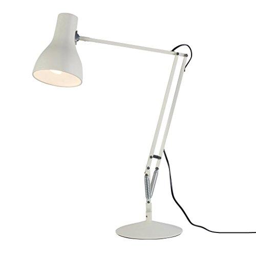 Anglepoise 30332 - Flexo de escritorio (tipo 75, 15 W E27 240 V), color blanco