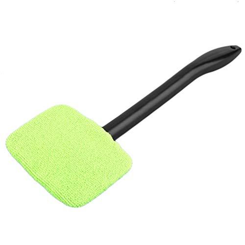 Tragbare Kunststoff-Windschutzscheibe Easy Cleaner Easy-Microfiber Clean-Fenster an Ihrem Auto oder zu Hause Waschbar Fast Easy Shine Handy (grün)