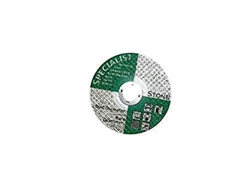 Builders Brand SP1925 - Disco di taglio piatto per pietra
