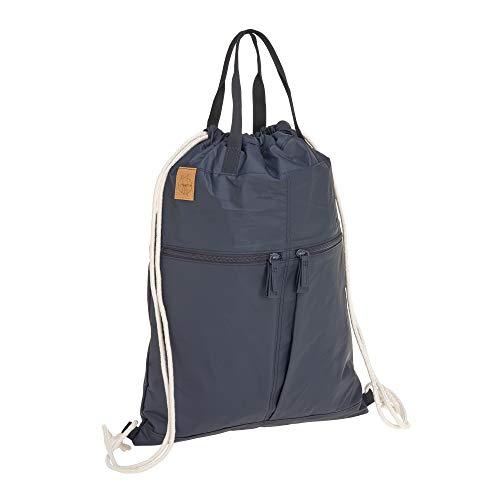 LÄSSIG Rucksack Turnbeutel mit Zugband/Green Label Tyve String bag, navy