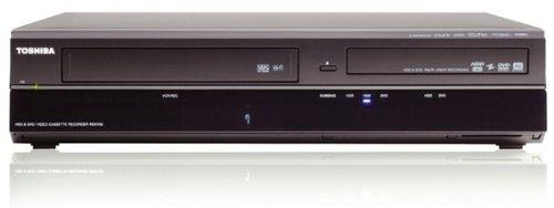 Toshiba RDXV50KF HDD-DVD-/Videorekorder (160 GB Festplatte, DVB-T) schwarz