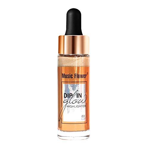 Leuchtende kosmetische Concealer-Gesichtsglühens flüssige fluoreszierende Creme C.