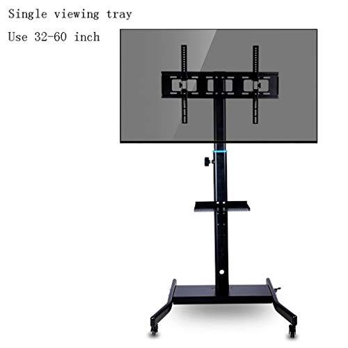 ZXC Home Stehen TV Multi-Funktions-TV Schrank Boden LCD-TV-Konferenz Wagen TV-Rack 32 39 Mobil 40 42-Zoll-Startseite Wohnzimmer TV-Ständer (Color : B)