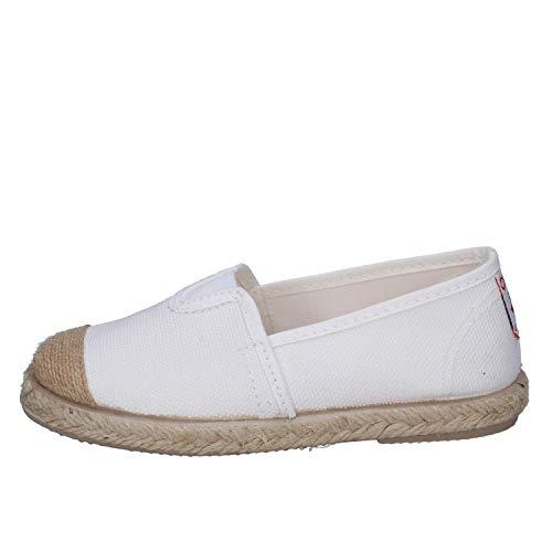 CIENTA 70998 35//40 bianco scarpe bambina ragazza elastico tessuto 36