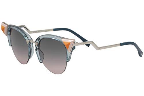 Fendi Sonnenbrille FF 0041/N/S0BR0/JP Cateye Sonnenbrille 52, Mehrfarbig
