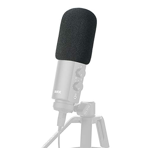 Rode NTUSB Mikrofon Popschutz - Microphone Foam Windscreen Pop Filter für Rode NT-USB Condenser Microphone von YOUSHARES