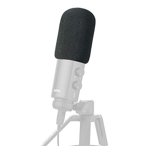 YOUSHARES Filtre Anti Pop Anti Vent en Mousse - Bonnette Pare-Brise s'adapte parfaitement avec Rode NT-USB Microphone