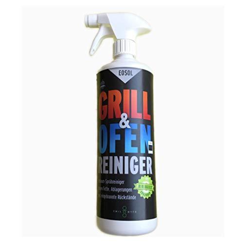 Emil Otto EOSOL Grillreiniger - Backofenreiniger, Inhalt: 1.000 ml in Schaumsprühflasche, reinigt selbst stärkste Verschmutzungen