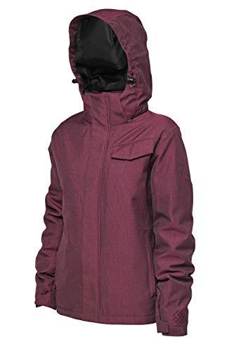Special Blend | Womens Olivia Snowboard/Ski Jacket (Wine, Large)