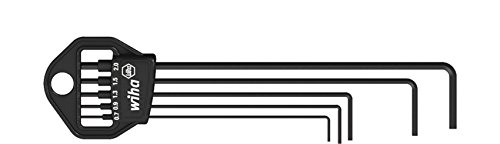 Wiha Stiftschlüssel Set im Classic Halter Sechskant 5-tlg. brüniert (06382)