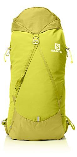 Salomon out Night 30+5 Mochila, Capacidad 35 L, Unisex Adulto, Amarillo (Citronelle), S/M