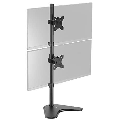 VIVO Stand-V002L Ständer für 2 Displaye bis zu 76,2 cm (30 Zoll) vertikal