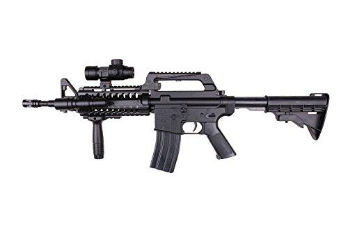Well MR733 Fucile Softair a Molla (Spring) - Cal 6mm -0,5 Joule- con Gli Accessori