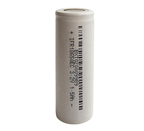 18650 Battery 1500Mah 3.2V Lawn Lamp Flashlight Battery-2Pcsbattery for Solar Lights, Battery String Lights, Tv Remotes, Wireless Mouses, Radio, Flashlight