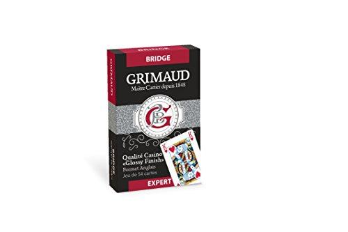 puissant Jeu de cartes Grimaud-Expert-Couleur aléatoire