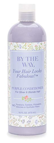 Purple Conditioner by The BTW Co. for Silver, Gray & Blonde Hair:...