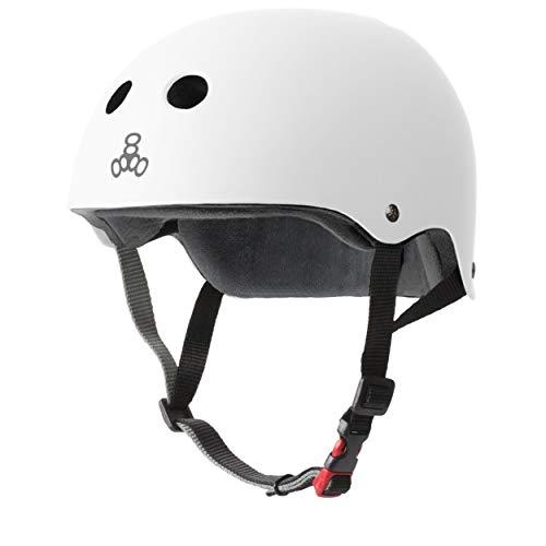 Cheapest Prices! Triple Eight The Certified Sweatsaver Helmet for Skateboarding, BMX, and Roller Ska...
