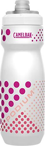 CAMELBAK Podium - Botella unisex para adulto con puntos blancos de gran tamaño, 24 oz