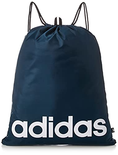 adidas Linear Gymsack Bolsa de Gimnasio, Adultos Unisex, AZMATR/Blanco/Negro (Multicolor), Talla Única