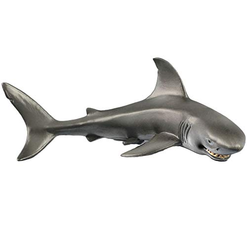 Oncpcare 1 Stück Smile Hai-Figuren Aquarium Dekoration, Sealife Replik Aquarium Ornament mit kleinem Lächeln spannende Aquarium Landschaft Wilddekoration Zubehör