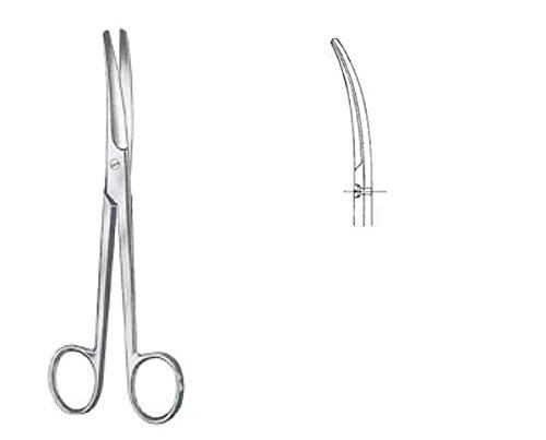 Nopa Mayo Tijeras para cirugía Curvas R/R 17,0 cm