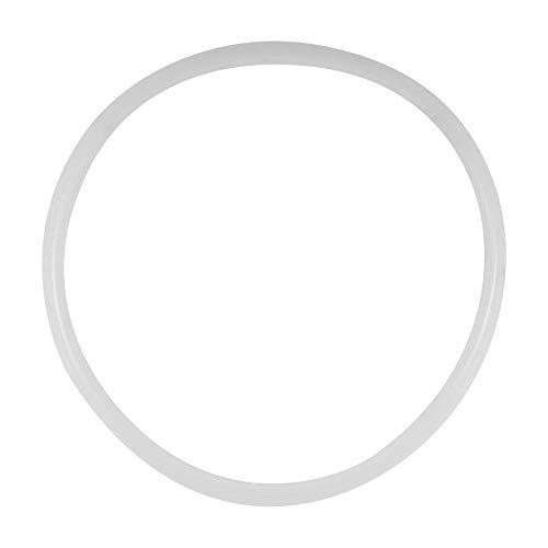 Zerodis Juntas de olla a presión, sustitución de ollas a presión, juntas de silicona transparentes que se pueden sustituir (24 cm de diámetro interior aplicable).