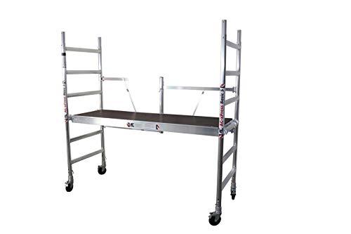 AC Rollgerüst, Fahrgerüst, Zimmerfahrgerüst xPress BASIC-S bis 3,0 m Arbeitshöhe, erweiterbar, (Plattform ohne Luke)