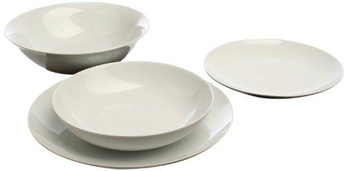 piatti servizio bianco Tognana Servizio tavola 19 Pezzi Metropolis