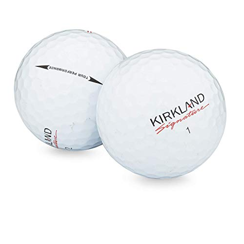 Kirkland Signature Golf Ball Mix - 50 Used Golf Balls (AAA Signature Ksig 3-Piece 4-Piece Golfballs), White (50PK 3)