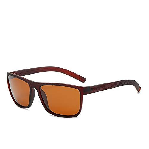 Gafas de Sol Sunglasses Gafas De Sol Polarizadas De Estilo Deportivo Vintage para Hombre,Diseñador De Lujo,Gafas De SolCuadradas Retro para Conducir, para Mujer, GafAnti-UV
