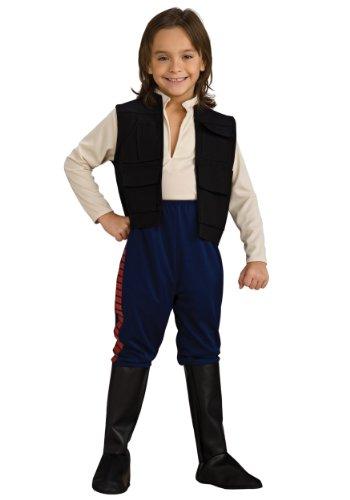 Star Wars Deluxe Han Solo Child Fancy Dress Costume Large