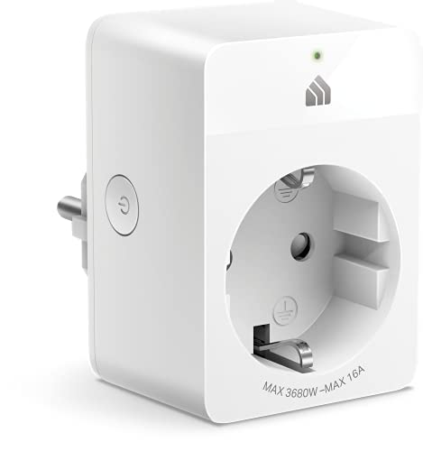 TP-Link Kasa KP115 - Enchufe Inteligente WiFi con Control de Consumo de energía, Funciona con Alexa, Google Home, SmartThings, Control por Voz, Acceso Remoto, sin Necesidad de hub, Mini