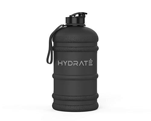 HYDRATE XL Jug 2.2 Litre Water Bottle - BPA Free, Flip Cap, Ideal for Gym - Colour Options (2.2...