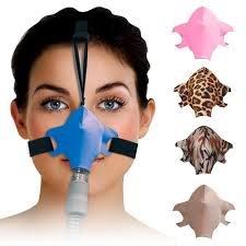 Sleepweaver Sleep Mask - positive airway control (Blue)