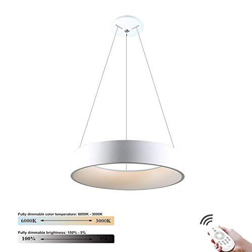 Moderne 30 W led-hanglamp eiland voor plafondmontage, decoratieve verlichting, interieurverlichting, designtafel, eettafel, kroonluchter, metaal, acryl hanglamp voor s.