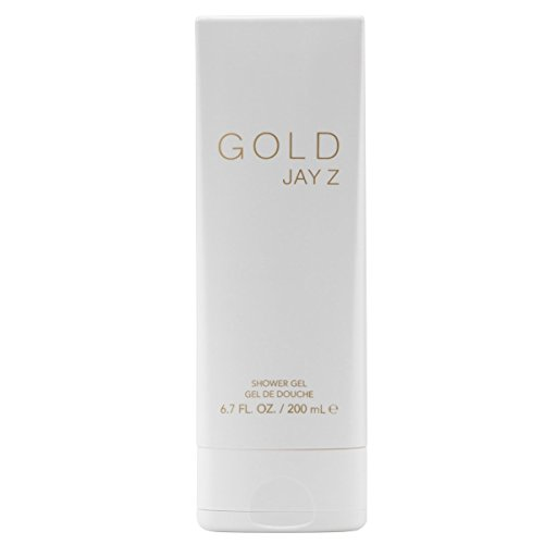 JAY Z Gold Shower Gel 200 ml, 1er Pack (1 x 200 ml)