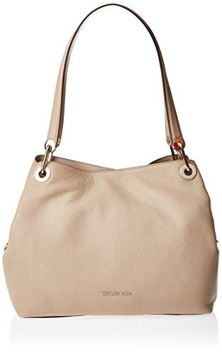 "100% Pebbled Leather 14.5""W X 10.5""H X 5""D Handle Drop: 10"" Interior Details: Back Zip Pocket, Slip Pocket, Front Slip Pocket, Center Zip Compartment Lining: 100% Polyester"