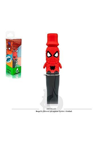 Boquilla silicona 3ds spiderman