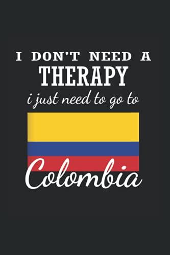British Colombia: Din A5 regalo portátil Colombia Bogotá con 120 páginas