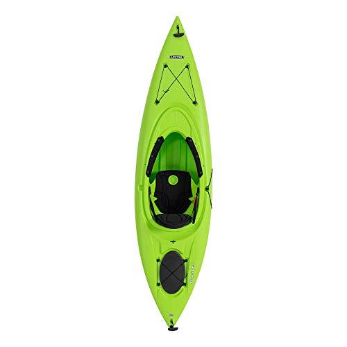 Emotion Guster Sit-Inside Kayak, Lime Green, 10'