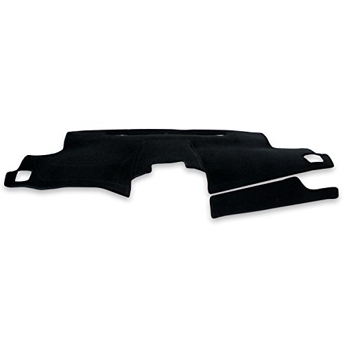 Coverking Custom Fit Dashcovers for Select Lexus IS F/IS250/IS350 Models - Velour (Black)