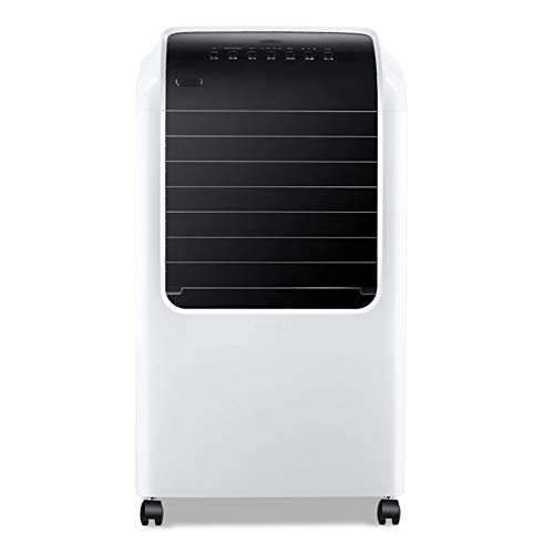 AC-Cooling Refroidissement Unités Ventilateur de climatiseur silencieux sans froid simple-froid, refroidisseurs à évaporation Avec télécommande 4 roulettes Refroidisseur d'air Timing Économie d'énergi